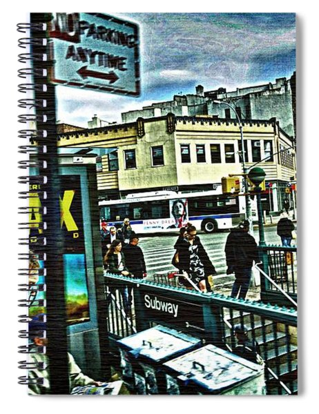 Christopher Street Greenwich Village  Spiral Notebook
