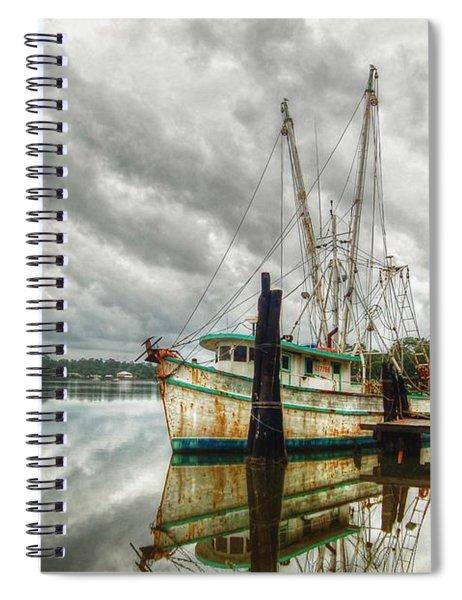 Christy Lynn On Bon Secour Spiral Notebook
