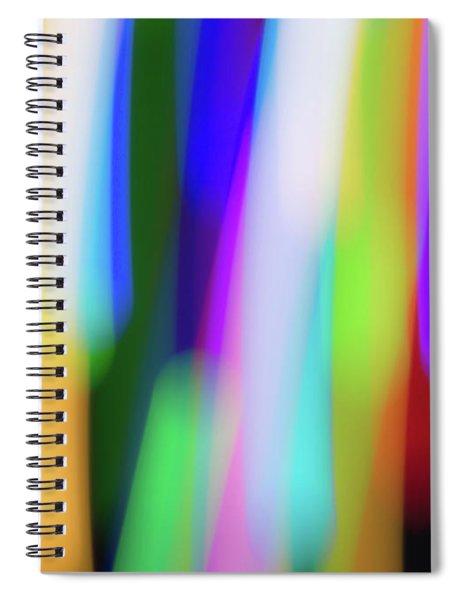 Chromatism Spiral Notebook