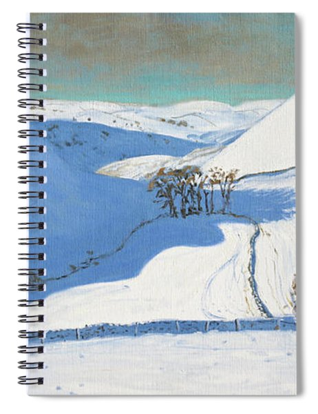 Chrome Hill, Derbyshire Spiral Notebook