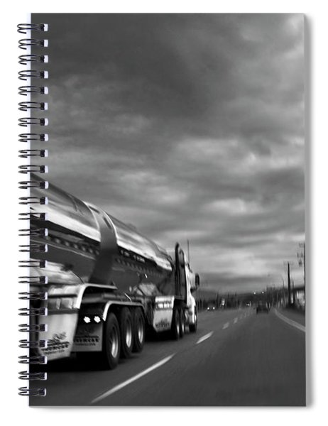 Chrome Tanker Spiral Notebook