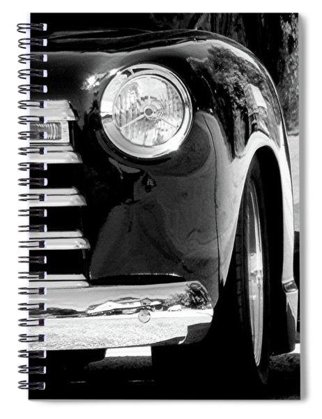 Chrome Spiral Notebook
