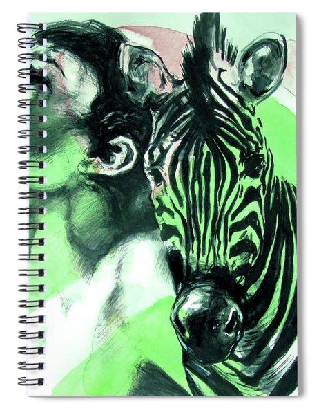 Chronickles Of Zebra Boy   Spiral Notebook