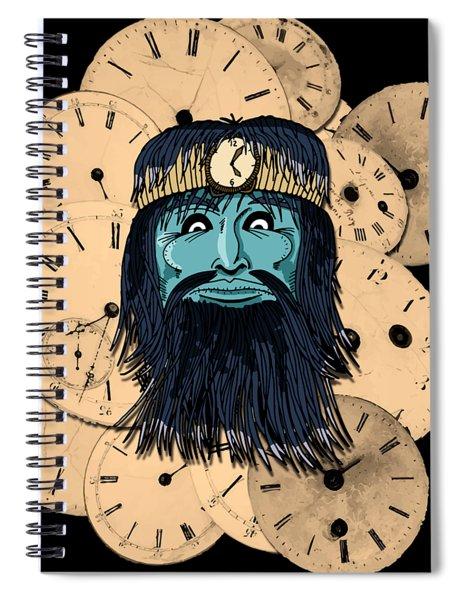 Chronos Spiral Notebook