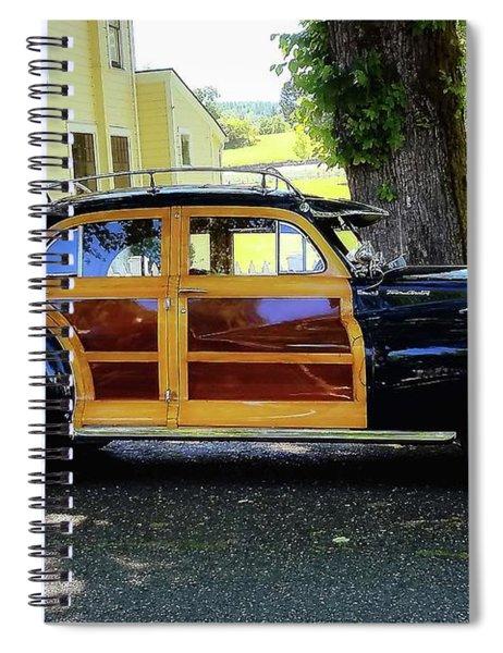 Chrysler Woody Spiral Notebook