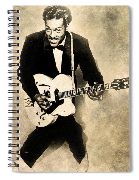Chuck Berry Spiral Notebook