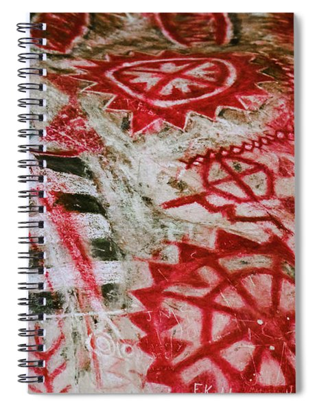 Chumash Painted Cave State Historic Park Spiral Notebook