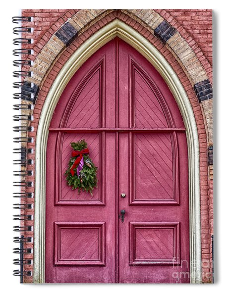 Church Door Spiral Notebook