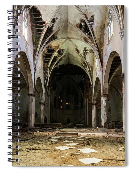 Church In Color Spiral Notebook
