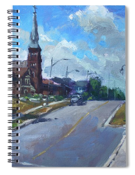 Church In Georgetown Downtown  Spiral Notebook