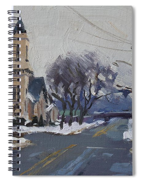 Church In North Tonawanda Spiral Notebook