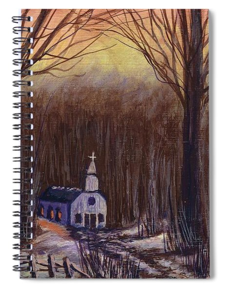 Church In The Woods  Spiral Notebook