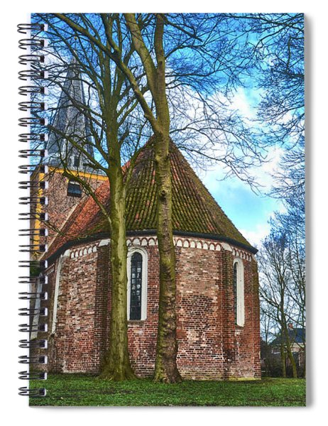 Church In Winsum Spiral Notebook