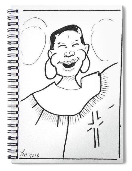 Church Lady 2 Spiral Notebook