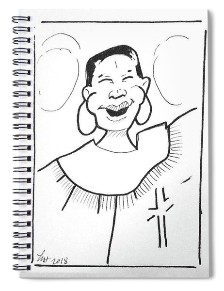 Church Lady 2 Spiral Notebook