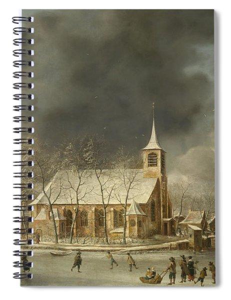 Church Of Sloten  Spiral Notebook