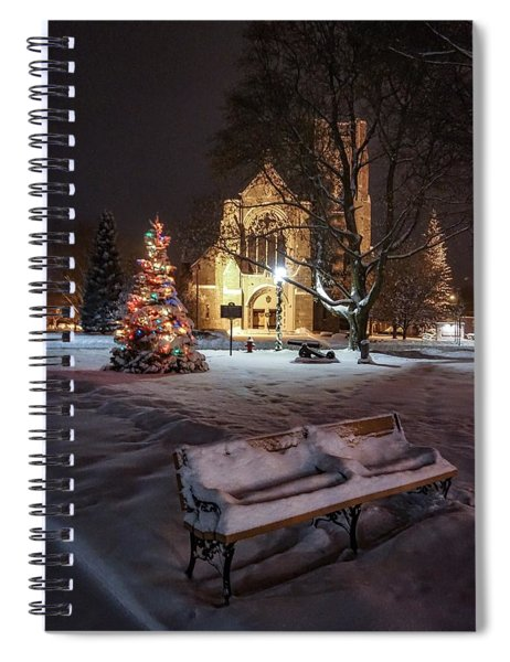 Church Of St Mary St Paul At Christmas Spiral Notebook
