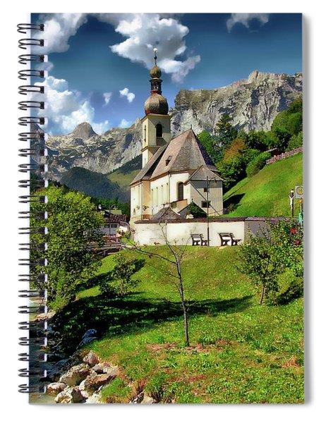 Church Of St. Sebastian Spiral Notebook