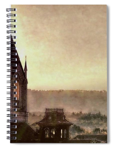 Church Steeple 4 For Cup Spiral Notebook