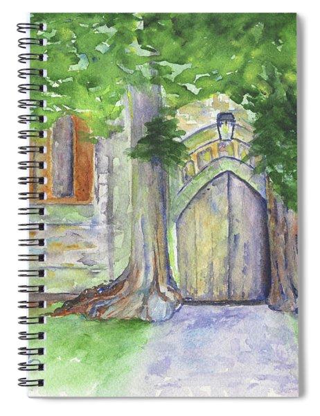 Church Trees Spiral Notebook