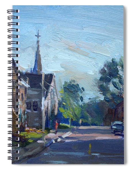 Churche In Downtown Georgetown On Spiral Notebook