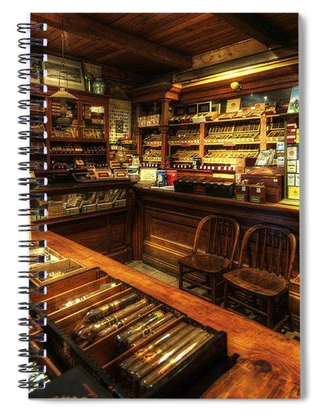Cigar Shop Spiral Notebook