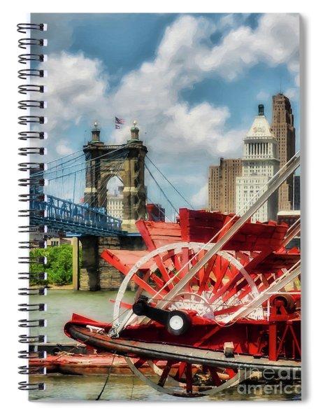 Cincinnati Landmarks 1 Spiral Notebook