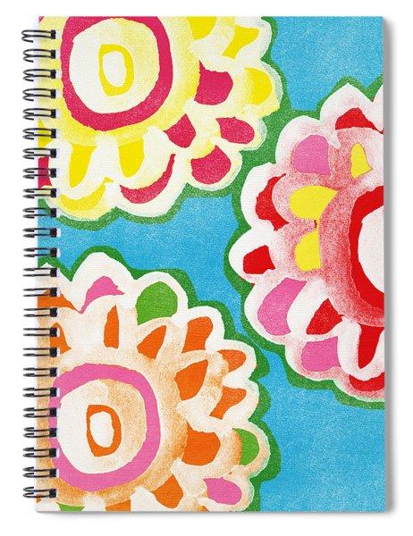 Fiesta Floral 1 Spiral Notebook
