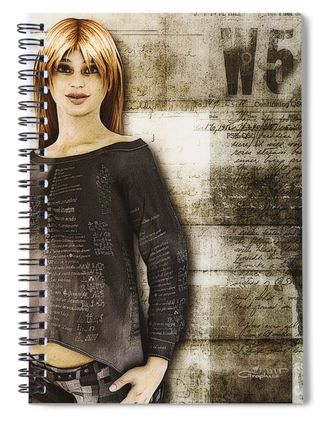 Cindy Spiral Notebook