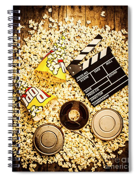 Cinema Of Entertainment Spiral Notebook