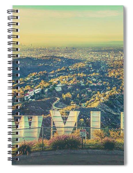 Cinematic Spiral Notebook