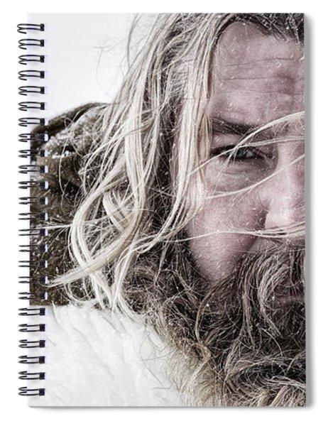 Cinematic Portrait Spiral Notebook