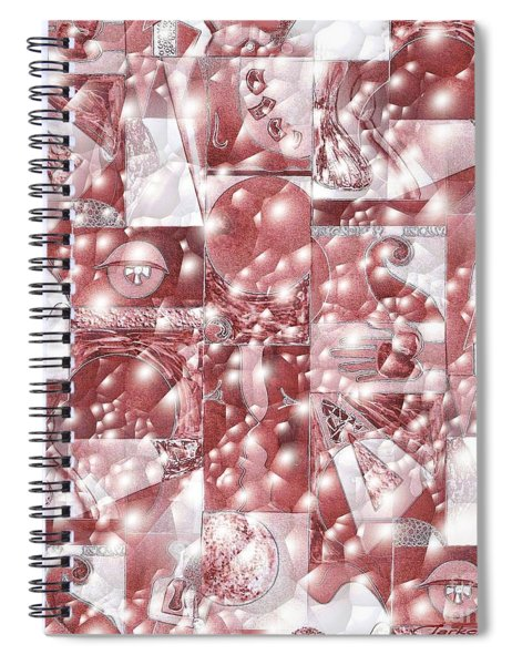 Cinnabar Carbonated Spiral Notebook