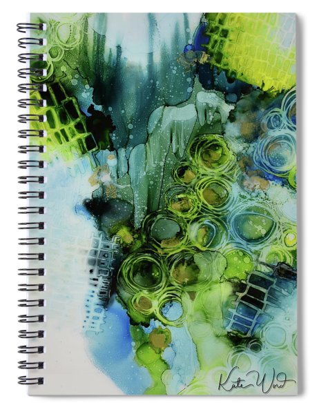 Circle Magic 1 Spiral Notebook by Kate Word