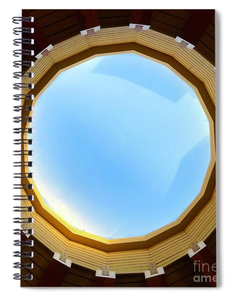 Circle Skylight Spiral Notebook