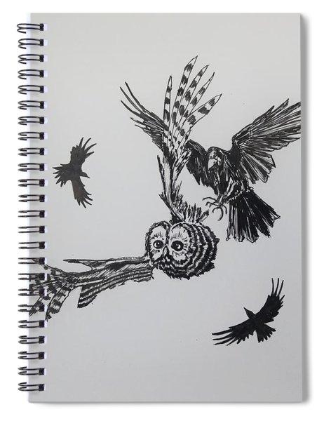 Circling Spiral Notebook