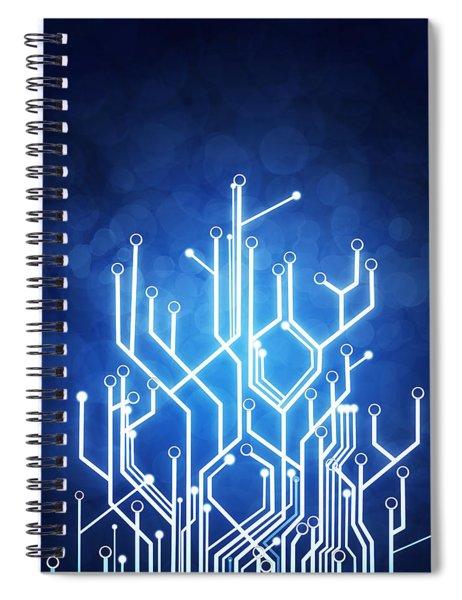 Circuit Board Technology Spiral Notebook