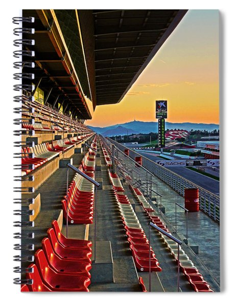 Circuit De Catalunya - Barcelona  Spiral Notebook
