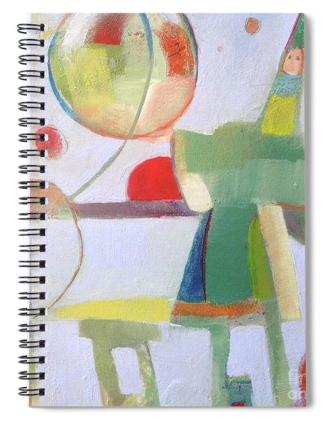 Circus Act Spiral Notebook