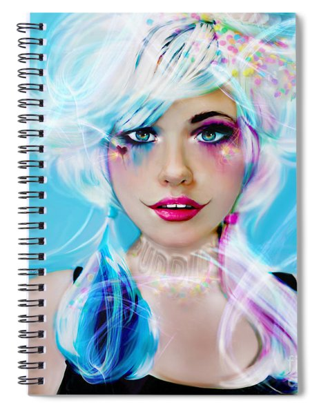 Circus Mind Spiral Notebook