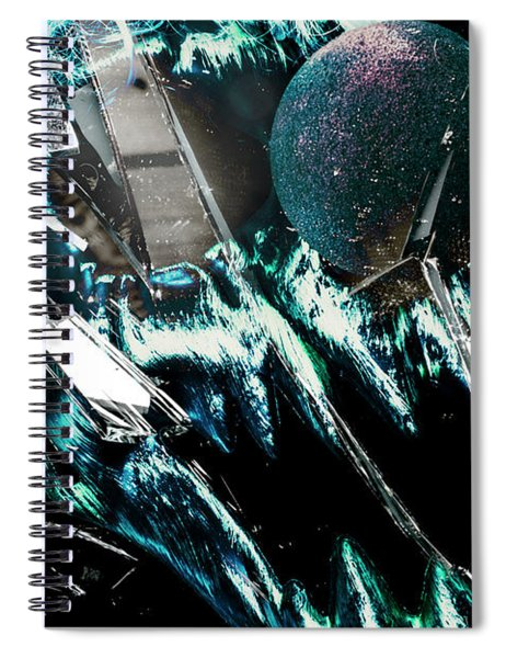 Circus House Of Mirrors Spiral Notebook