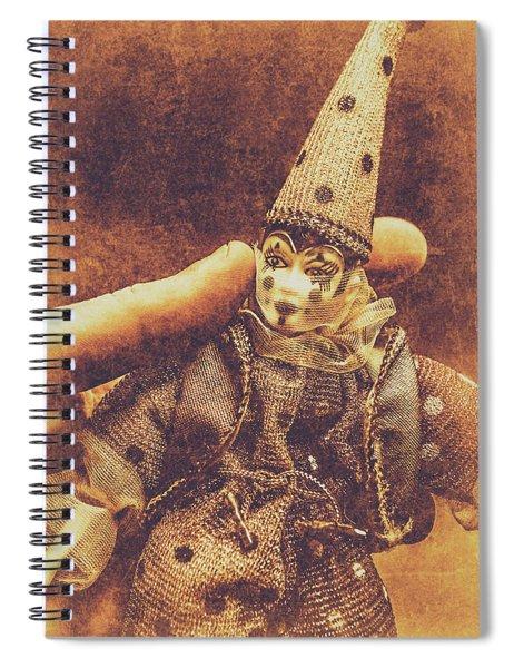 Circus Puppeteer  Spiral Notebook