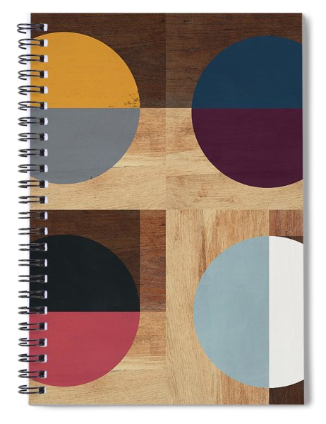 Cirkel Quad- Art By Linda Woods Spiral Notebook