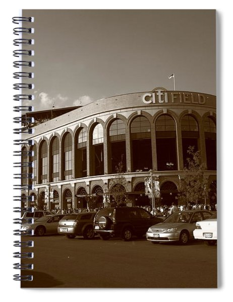 Citi Field - New York Mets 14 Spiral Notebook
