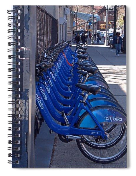Citibike Spiral Notebook