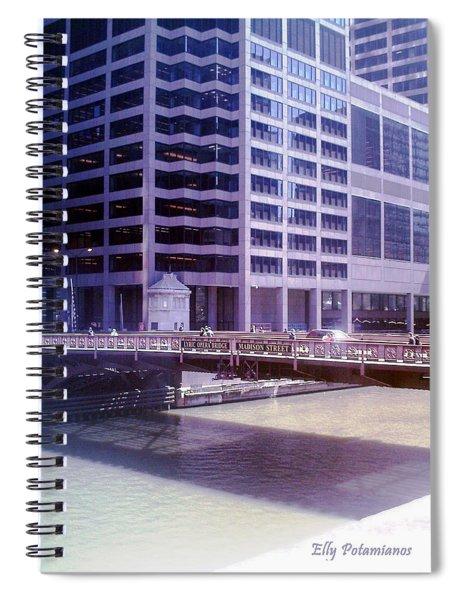 City Bridge Spiral Notebook