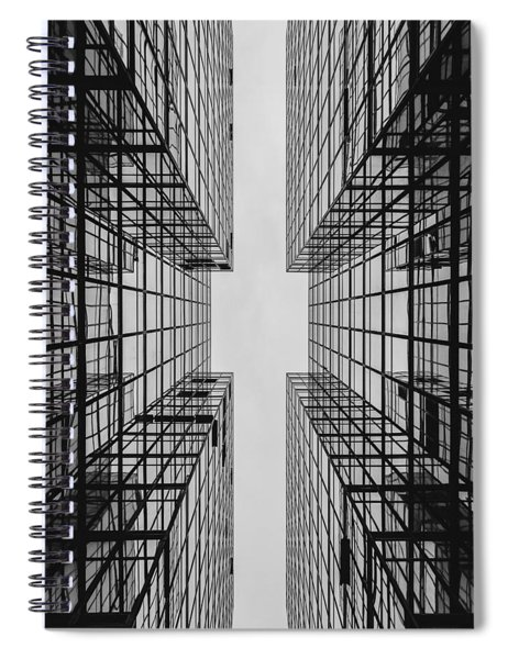 City Buildings Spiral Notebook
