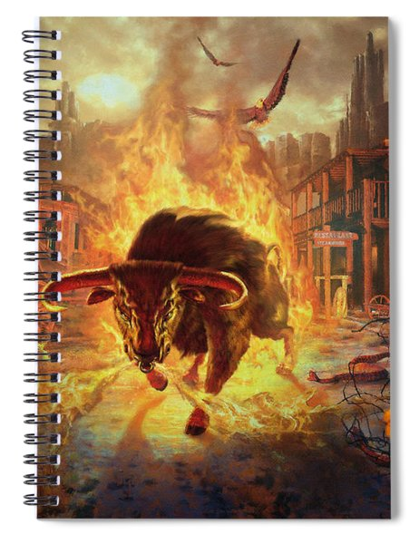 City Bull City Spiral Notebook