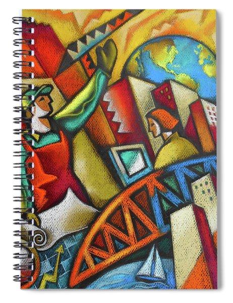 City Development Spiral Notebook