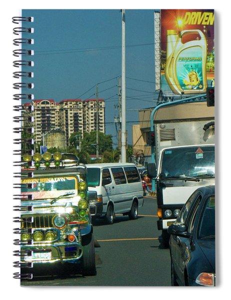 City Driving Spiral Notebook